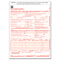 """ComplyRight™ CMS-1500 Health Insurance Claim Form (02/12), 2-Part, 9"""" x 11"""", White/Canary, Pack of 500"""