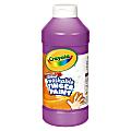 Crayola® Washable Finger Paint, 16 Oz., Violet