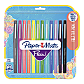 Paper Mate® Flair® Tropical Vacation Felt Tip Pens, Medium Point, 0.7 mm, Assorted Colors, Pack Of 12