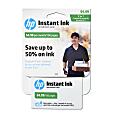 HP Instant Ink Enrollment Webplan, 100 Pages