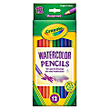Crayola® Watercolor Pencils, Set Of 12 Colors