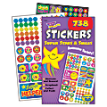 Trend® Sticker Pad, Super Stars And Smiles, Pack Of 738