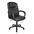 Venn High-Back Chair, Black