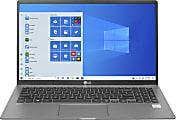 "LG gram Ultra-Slim Laptop, 15.6"" Screen, Intel® Core™ i5, 8GB Memory, 256GB Solid State Drive, Wi-Fi 6, Windows® 10, 15Z95N-G.APS5U1"