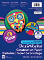 """SunWorks® Construction Paper, 9"""" x 12"""", Assorted, Pack Of 50"""