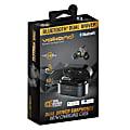 Volkano X Resonance Unplugged Series Dual Driver TWS Earbuds, VK-1114-BK