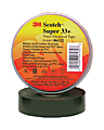 """3M™ 33+ Electrical Tape, 3/4"""" x 22 Yd., Black, Pack Of 10"""