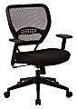 Office Star™ Professional Air Grid® Mid-Back Mesh Chair, Black