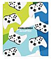 "Office Depot® Brand Fashion 2-Pocket Poly Folder, 8-1/2"" x 11"", Video Games"