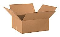 "Office Depot® Brand Corrugated Cartons, 20"" x 18"" x 8"", Kraft, Pack Of 25"