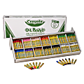 Crayola® Oil Pastels Classpack, Assorted Colors, Set Of 336 Pastels