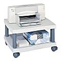 Safco® Wave Under Desk Printer Stand, Light Gray