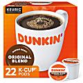 Dunkin' Donuts® Single-Serve Coffee K-Cup®, Original Blend, Carton Of 22
