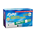 EXPO® Low-Odor Dry-Erase Marker, Chisel Point, Green, Pack of 12