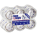 """Tape Logic® #260CC Crystal Clear Tape, 3"""" Core, 2"""" x 55 Yd., Clear, Case Of 12"""