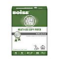 "Boise® X-9® Multi-Use Copy Paper, Letter Size (8 1/2"" x 11""), 92 (U.S.) Brightness, 20 Lb, White, Ream Of 500 Sheets"