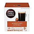 Nescafe® Dolce Gusto® Single-Serve Coffee Pods, Grande Intenso, Carton Of 48, 3 x 16 Per Box