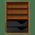 HON® Laminate Vertical Paper Manager, Bourbon Cherry