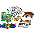 Prang Power Teacher Supply Kit - ClassRoom Project - Recommended For - 716 / Kit - White