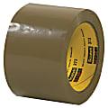 """Scotch® 373 Carton-Sealing Tape, 3"""" Core, 3"""" x 110 Yd., Tan, Pack Of 24"""