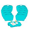 """LapGear MyDesk Lap Desks, 18-1/2"""" x 19-15/16"""", Turquoise, Pack Of 12 Desks"""