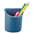 Office Depot® Brand 30% Recycled Partition Pen Cup, Gray