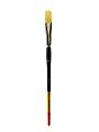 Princeton Snap Paint Brush, Size 12, Filbert Bristle, Synthetic, Multicolor