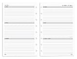TUL® Discbound Weekly/Monthly Refill Pages, Junior Size, January To December 2022, TULJRFILR-WM