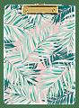 """Office Depot® Brand Clipboard, 9/16""""H x 12 1/2""""W x 9""""D, Tropical Palm"""