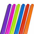 JAM Paper® Wrapping Paper, Assorted Bright Glossy Colors, 25 Sq Ft Each, Pack of 6 Rolls