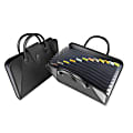 C-Line® Expanding File With Handles, Letter Size, Black