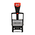 """2000 PLUS® Self-Inking Date Stamp, Single Line Date Only, 2"""" x 3/16"""" Impression"""
