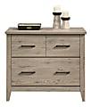 """Sauder® Summit Station 34""""W Lateral 1-Drawer File Cabinet, Laurel Oak"""
