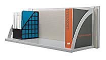 "HON® Verse® Hanging Storage Shelf, 14 1/2""H x 30""W x 14""D, Gray"