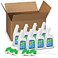 Comet® Disinfecting Bathroom Cleaner, 32 Oz, 4 Spray Triggers Per Case, Case Of 8 Bottles