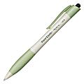 Paper Mate® Earth Write™ Ballpoint Pens, Refillable, Medium Point, 1.0 mm, White Barrels, Black Ink, Pack Of 12