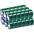 """Tape Logic® Pre-Printed Carton Sealing Tape, Approved, 2"""" x 55 Yd., Green/Black, Case Of 36"""