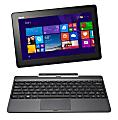 "ASUS® Transformer 2-in-1 Laptop Computer With 10.1"" Screen & Atom Z3735F Processor, Model Number T100TAF-B12-GR"
