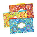 "Barker Creek Tab File Folders, 8 1/2"" x 14"", Legal Size, Moroccan, Pack Of 9"