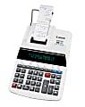 Canon MP27DII Printing Calculator, Gray