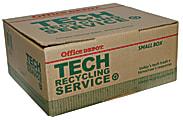 "Tech Recycling Box, Small, 8""H x 18""W x 15""D"