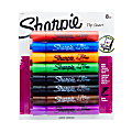 Sharpie® Flip Chart™ Markers, Assorted, Pack Of 8