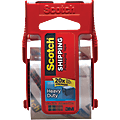 "3M™ 142 Carton Sealing Tape, 1.5"" Core, 2"" x 66.6', Clear, Case Of 36"