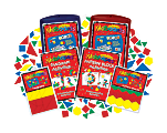 Barker Creek® Magnets, Learning Magnets®, Math Manipulatives Activity Kit, Grades Pre-K+, Pack Of 154