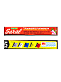 "Saral Transfer Paper, 12 1/2"" x 12' Roll, Red"