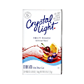 Crystal Light® On The Go Mix Sticks, Fruit Punch, Box Of 30 Packets