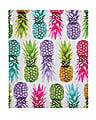 Divoga® 2-Pocket Paper Folder, Tropical Punch Collection, Letter Size, Colorful Pineapple