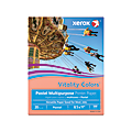 """Xerox® Vitality Colors™ Multi-Use Printer Paper, Letter Size (8 1/2"""" x 11""""), 20 Lb, 30% Recycled, Salmon, Ream Of 500 Sheets"""