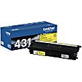 Brother® TN431Y Yellow Toner Cartridge