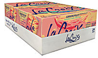 LaCroix® Core Sparkling Water with Natural Grapefruit Flavor, 12 Oz, Case of 24 Cans
